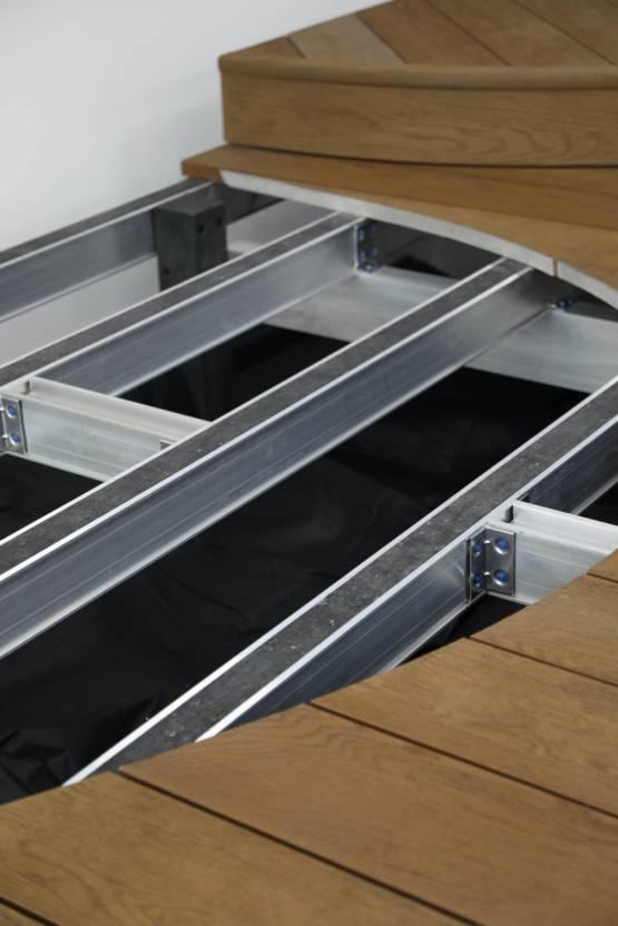 Neu im Sortiment: Millboard DuoSpan® Aluminium-Unterkonstruktion