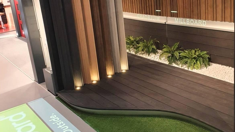 Millboard Fassadenprodukte jetzt auch in der Bauarena